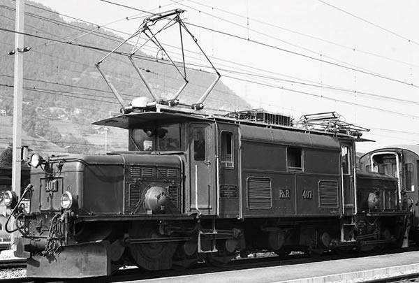 Bemo 1355130 - Swiss Electric Locomotive Ge 6/6 I 406 Rhätisches Krokodil (DCC Decoder)
