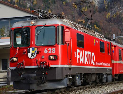 Bemo 1358148 - Swiss Electric Locomotive Ge 4/4 628 of the RhB