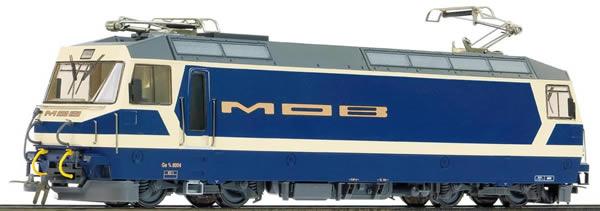 Bemo 1359301 - Swiss Electric Locomotive Ge 4/4 8001 of the MOB (DCC Decoder)