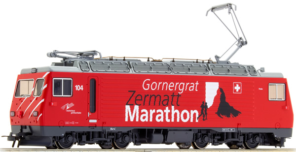 Bemo 1362294 - Swiss Electric Locomotive HGe 4/4 104 (Sound)