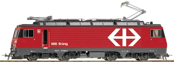Bemo 1362411 - Swiss Electric Locomotive HGe 101 961 of the SBB (DCC Decoder)
