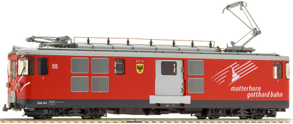 Bemo 1363255 - Swiss Electric Railcar Bauart Deh 4/4 (DCC Decoder)