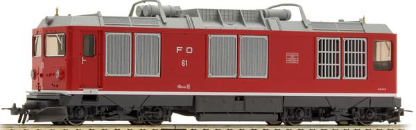 Bemo 1367200 - Swiss Diesel Locomotive Reihe HGm 4/4 of the FO (DCC Decoder)