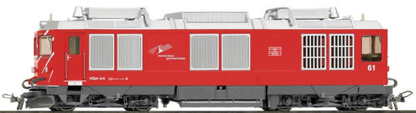 Bemo 1367251 - Swiss Diesel Locomotive HGm 4/4 61 of the MGB (DCC Decoder)