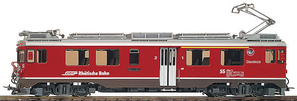 Bemo 1369107 - Swiss Electric Railcar ABe 4/4 55 of the RhB