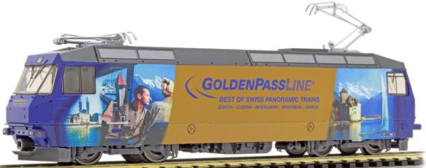 Bemo 1459334 - Swiss Electric Locomotive GoldenPass Panoramic of the RhB (Sound)