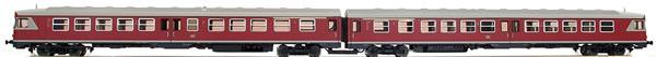 Bemo 1520800 - German Diesel Railcar VT 24 649/650 of the DB