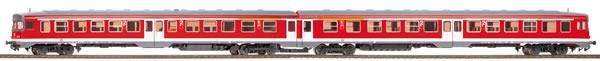 Bemo 1521840 - German Diesel Railcar 634 655/634 661 of the DB AG