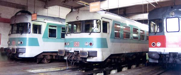 Bemo 1522830 - German Intermediate car 924 427 for BR 624