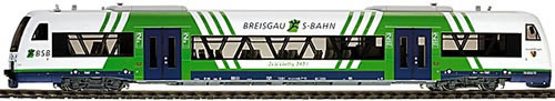 Bemo 1532917 - German Breisgau S-Bahn VT 017 RegioShuttle RS1 of the BSB