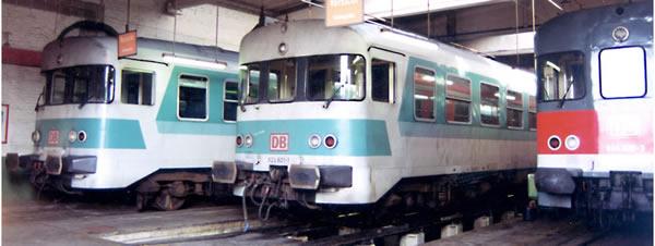 Bemo 1620830 - German Diesel Railcar Class 624 632/624 678 of the DB AG