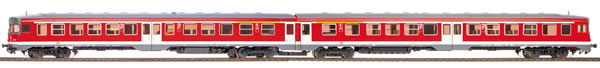Bemo 1621840 - German Diesel Railcar  Set Class 634 655 / 634 661 of the DB AG