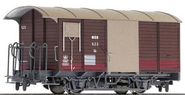 Bemo 2273306 - Covered Freight Car Bauart Gk 556