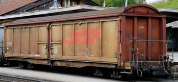 Bemo 2278108 - Sliding Wall Wagen Serie Haik-v