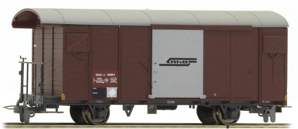Bemo 2283114 - Swiss Boxcar Gbk-v 5594 of the RhB