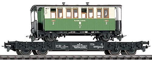 Bemo 2601860 - DR Tranportor for narrow gauge Epoche III