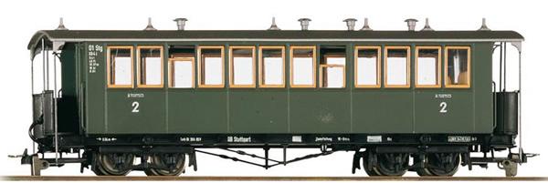 Bemo 3011811 - 2nd Class Passenger Coach Bauart KB4i 01