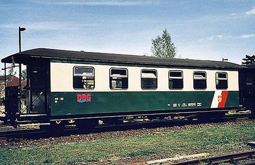 Bemo 3020891 - 2nd Class Passenger Coach 970-263 Oschatz