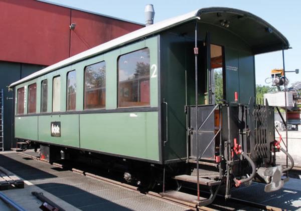 Bemo 3031836 - 2nd Class Passenger Wagen Öchsle 2076 Stg