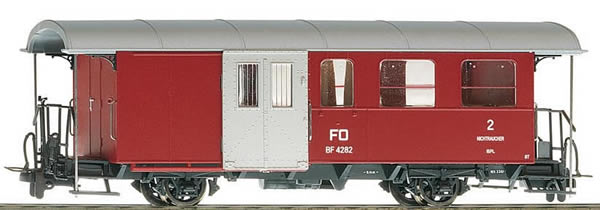 Bemo 3237211 - Passenger Wagen BF 4281 with luggage compartment