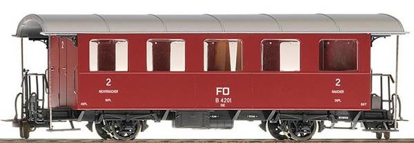 Bemo 3239212 - 2nd Class Passenger Coach B 4202