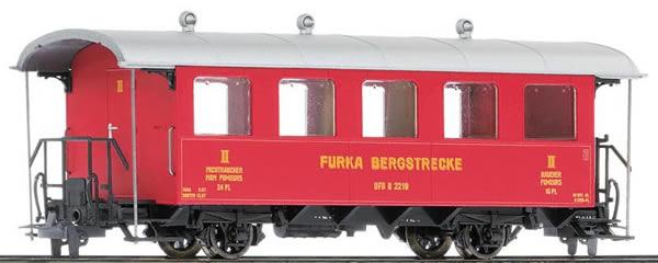 Bemo 3239280 - 2nd Class Passenger Wagen B 2210