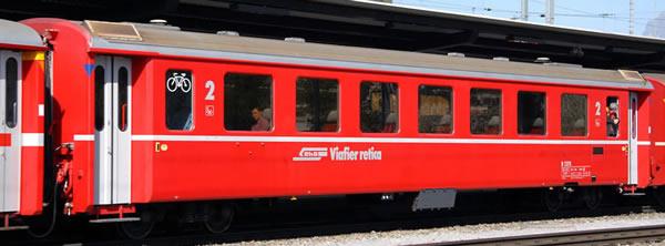 Bemo 3240153 - 2nd Class Passenger Coach EW II B 2375