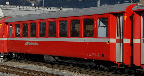 Bemo 3250163 - Swiss Passenger Car B2343 EW I of the RhB