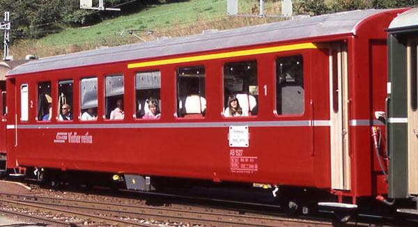 Bemo 3251127 - 1/2 Class Passenger Coach EW I AB 1527