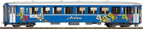 Bemo 3253145 - 2nd Class Passenger Coach B 2315 Arosa-Express