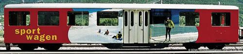 Bemo 3259224 - Passenger Coach B 4244 Sportwagen