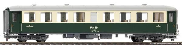 Bemo 3260104 - 2nd Class Passenger Coach B 2224