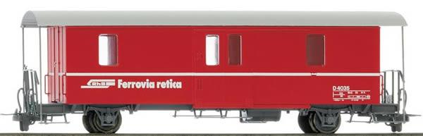 Bemo 3265125 - Baggage Car D2 4035