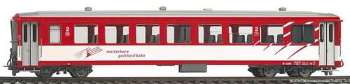 Bemo 3266258 - Swiss Light Alloy Car 4268 of the MGB