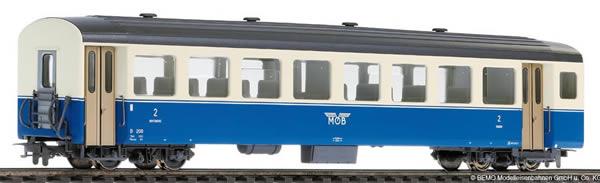 Bemo 3267309 - 2nd Class Passenger Coach B 209