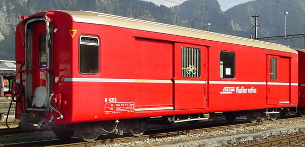 Bemo 3269133 - Baggage Car D 4213