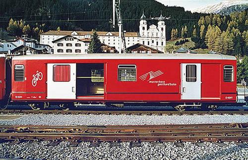 Bemo 3269252 - Baggage Car D 4342