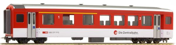Bemo 3277474 - 2nd Class Passenger Coach AB 434