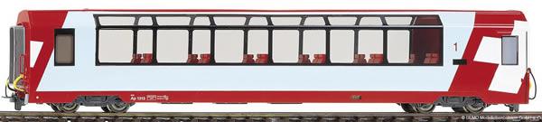 Bemo 3289102 - 1st Class Panorama Passenger Coach Api 1312 Glacier-Express
