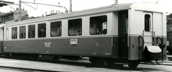Bemo 3292305 - 1st Class Passenger Coach A 105