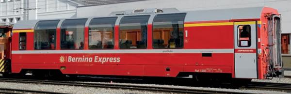 Bemo 3294142 - Panorama coach Bernina Express Bp 2502 of the RhB