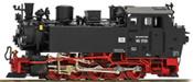 German Steam Locomotive BR 99 1703 of the DR