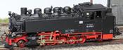 German Steam Locomotive BR 99 of the DR