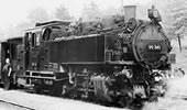 German Steam Locomotive BR 99 760 of the DR