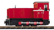 Austrian Diesel Shunter BR 2092.3 of the  Heeresfeld Railway