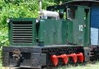German Diesel V2 of the Höllentalbahn Private Railroad