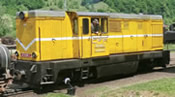 Romanian Diesel Locomotive