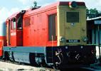 Hungarian Diesel Locomotive Mk45-2001