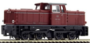 German Diesel Locomotive V 52 901 in old red of the DB