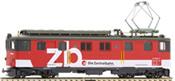 Swiss Electric Locomotive De 110 011 of the  Zentralbahn Railway